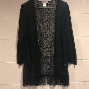 Super cute lace/floral cardigan!!